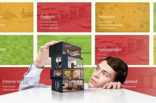 Rentdesk zorgt voor eenvoudig beheer van vastgoed voor eigen vastgoed en verhuur voor derden.